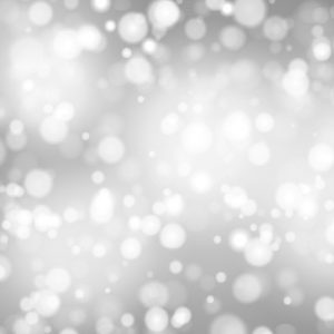 Decorative Christmas background with bokeh lights